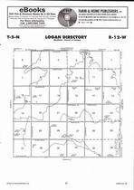 Logan Township Directory Map, Adams County 2007